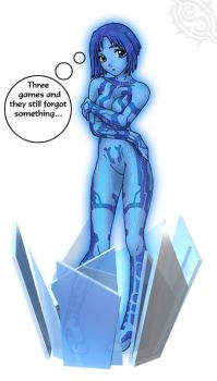 Cortana Halo 3 by Shadowcat1001