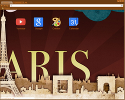 Theme paris by dulcepanquecito