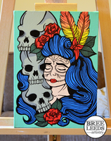 Sugar and Skulls by Bree-Leeds