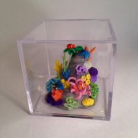 Miniature Reef Cube by amykristin75