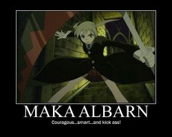 Maka Motivational Poster by shadrougeforever