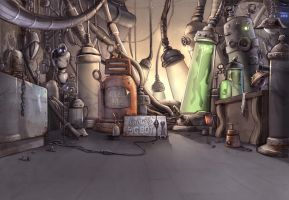 the Pigbot Laboratory by pendric
