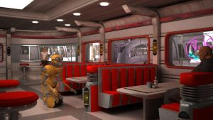 Inside the Dexter Diner... by rodluc2001