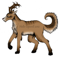 Oh deer- colored by HollieBollie