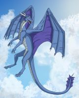 Free in the sky by MightyRaptor