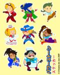 Power Stone 2 Stickers by chloebs