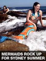 Mandarinfish Mermaid by Meerkatie