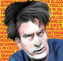 Charlie Sheen by DrNealAxe