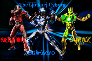 The Lin Kuei Cyborgs by IamSubZero
