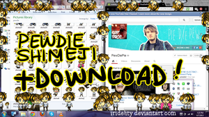 PEWDIEPIE SHIMEJI + DOWNLOAD by Rokeii