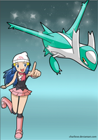 I choose you! Latios! by charlieXe