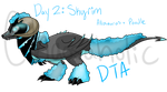 Dino-Dogs Theme Event Day 2: Skyrim Alloodle by Chaosaholic