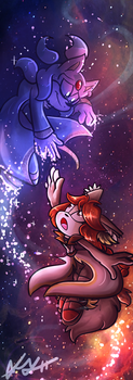 CE: Cosmic Love by Blossom-fur7