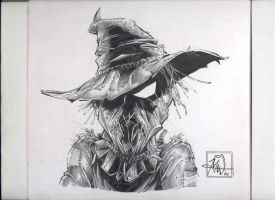 Scarecrow con sketch by RougeDK