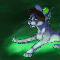 Green and Glowy by Aychemex