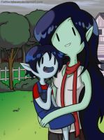 AT Marceline' s mum by TiaBlackRaven