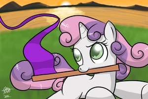Sweetie Belle by Mister-Markers