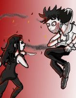 Jeff Versus Jane by QweXTheXEccentric