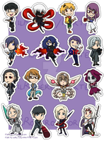 Stickers: Tokyo Ghoul by forte-girl7