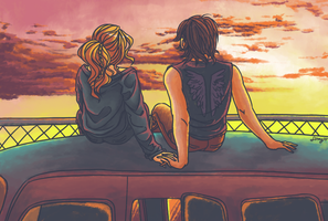 Bethyl - Rusty Sunset by foxyx