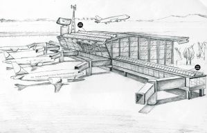 Solar air port by corElement
