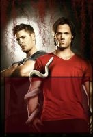 Jared and Jensen Winchester by RossLana