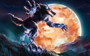 Fenrir Frostfang -- Smite by KalaSketch