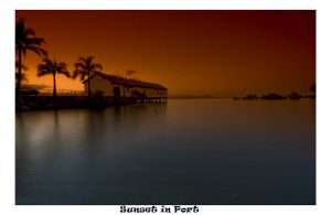 Sunset in Port by tayloma