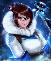 Mei OverWatch by magato98