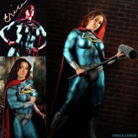 Cosplay Monday With Superwoman Erica Cordie by zenx007