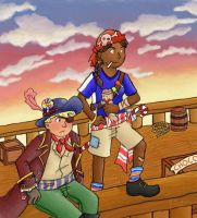 Candy Pirates by An-die-Freude
