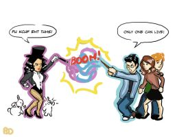 Zatanna vs. Harry Potter by brilliant-beatrice