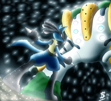 Regigigas Attacks... by Esepibe