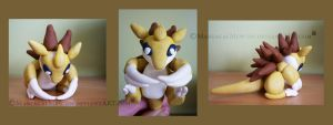 Fimo Sandslash by ManiacalMew