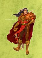 Disney meets Warcraft - Gaston by LiberLibelula