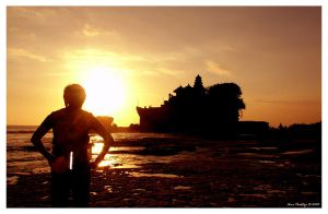Me And Sunset by ditya