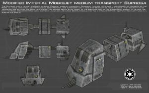 Modified Mobquet transport Suprosa ortho [New] by unusualsuspex