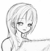 Namine_sketch by kingdomhearts