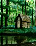 The Enchanted Outhouse by stuwaha