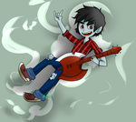 AT: I QUIT, HERE HAVE MARSHALL LEE by lewisrockets