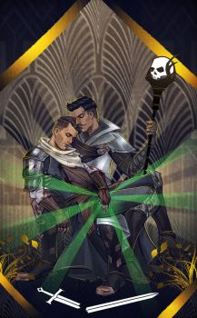 Dragon Age: Inquisition - Commission 5 by maXKennedy