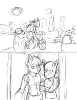 TotWW Winter Song 2 days 3 nights pg 1 wip by FrostLupus
