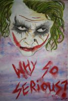 Joker _ Why So Serious? by Sakura-Koi