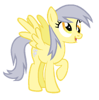 Derpy Hooves reversed by AdolfWolfed4Life