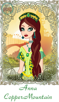 Ever After High: Anna CopperMountain by Mother-of-Trolls
