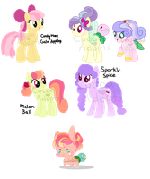 Leftover Pony Adopts .:OPEN:. by CocoaAdopts