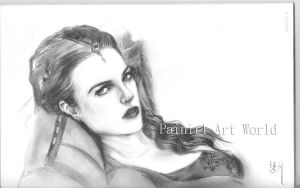Morgana unfinished 3 by Painirl