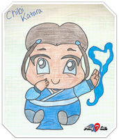 Chibi Katara by kh4love101