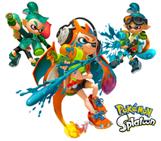 Splatoon Starters by KittRen