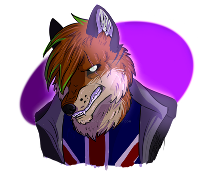 Steve The Wolf [AT] by CapriciousCrow